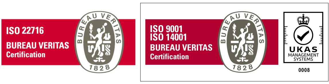 ISO 22716 BUREAU VERITAS Certification